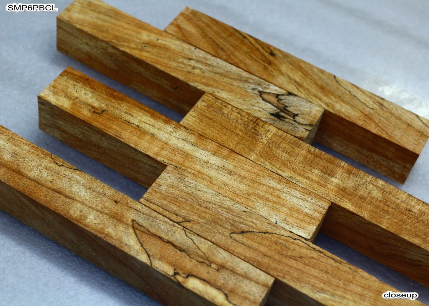 Spalted maple pen blanks quot long colorful