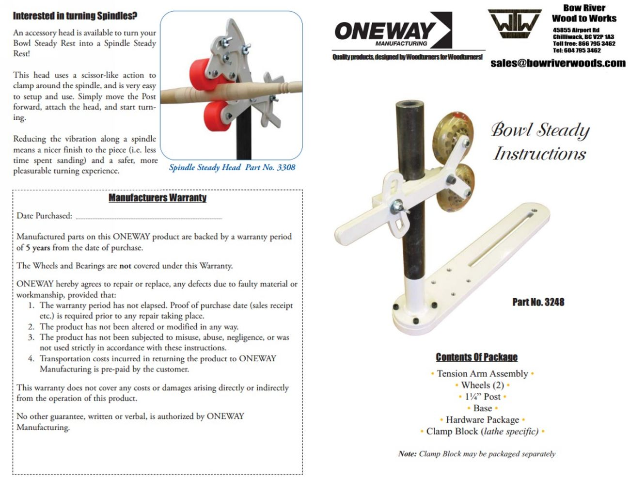 oneway lathe. please specify your bed gap when ordering. oneway lathe